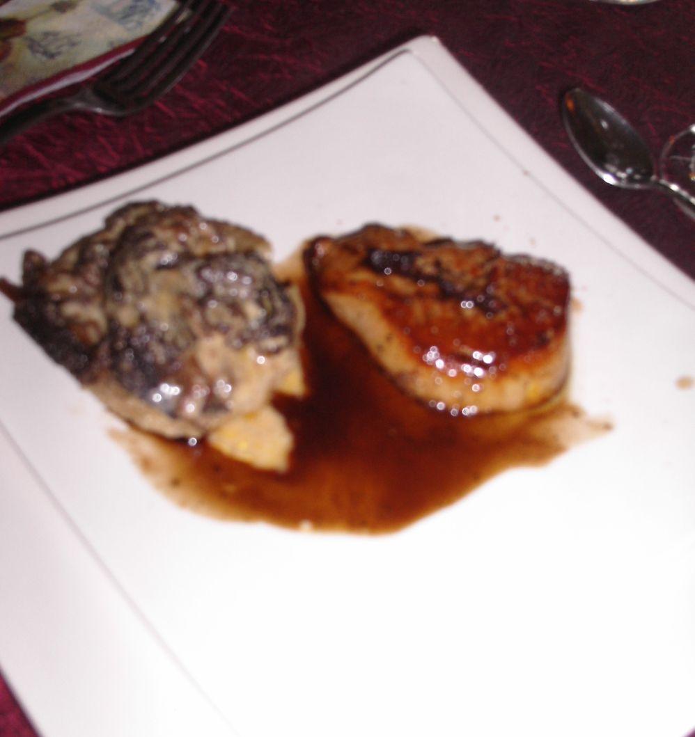 dentellier03 foie gras po l au fond d artichaut morilles. Black Bedroom Furniture Sets. Home Design Ideas